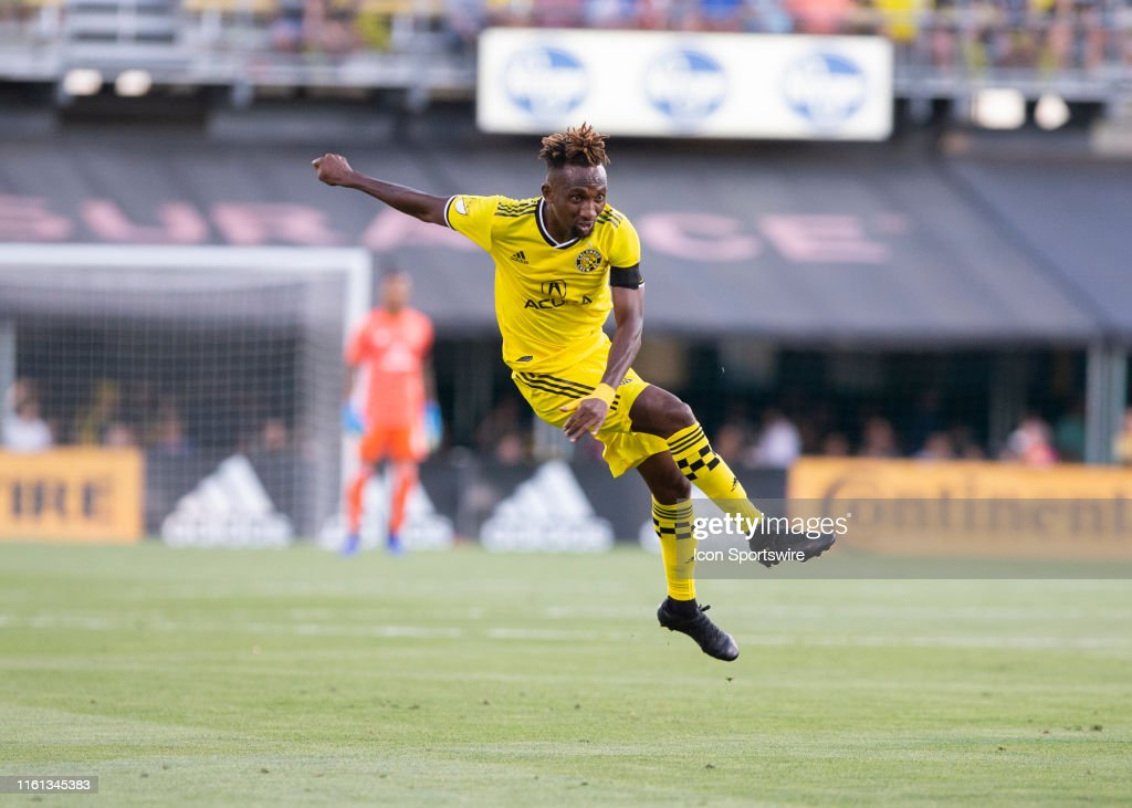 Columbus Crew SC defender Harrison Afful during the match between