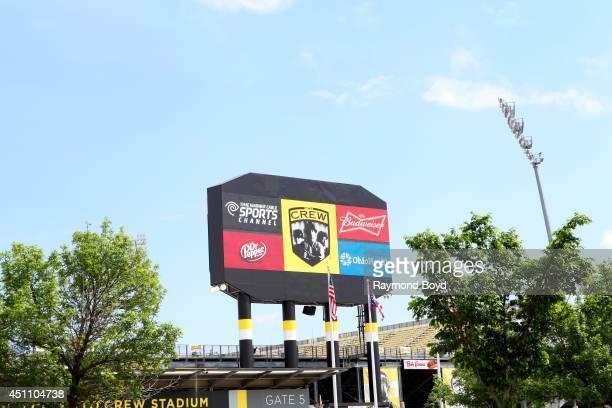 Columbus Crew Stadium on May 16 2014 in Columbus Ohio