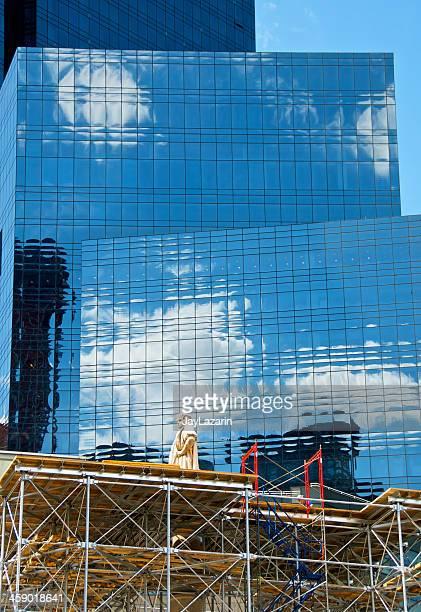 コロンブス記念碑 - タイムワーナーセンター ストックフォトと画像