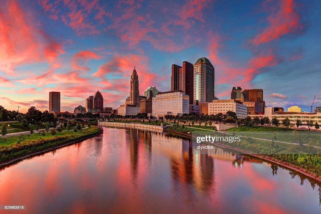 Columbus, Ohio cityscape : Stock Photo