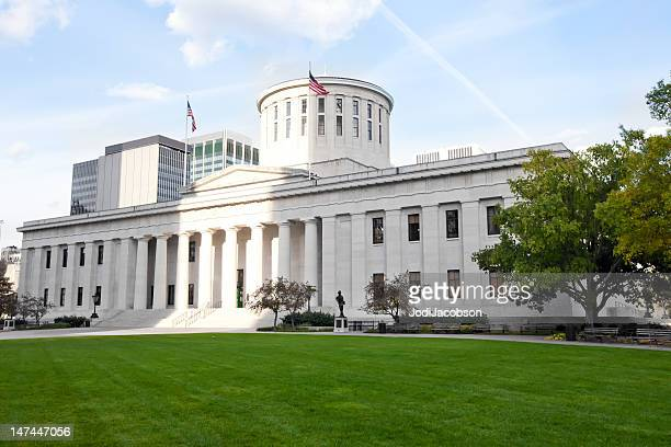 columbus ohio state capitol - ohio stock pictures, royalty-free photos & images