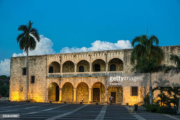columbus palace - santo domingo dominican republic stock pictures, royalty-free photos & images