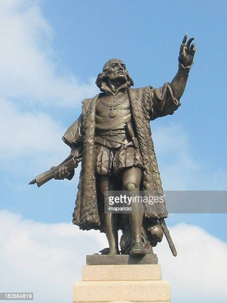 columbus - columbus statue stock pictures, royalty-free photos & images