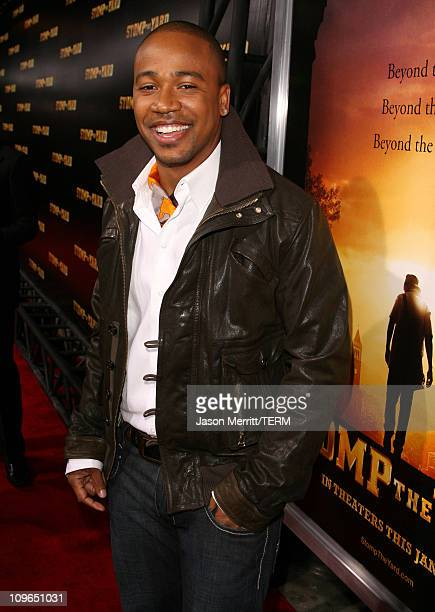 Columbus Short during 'Stomp The Yard' Premiere Red Carpet at Cinerama Dome in Hollywood California United States