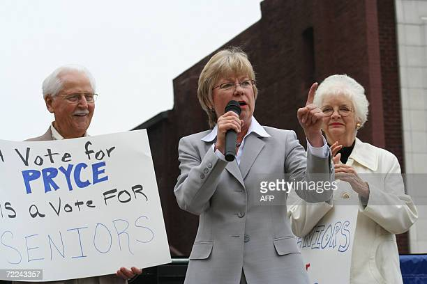 TO GO WITH AFP STORY USVOTEVALUES BY ERIKA PONTARELLI COMPART Congresswoman Deborah Pryce the highestranking Republican woman in the history of the...