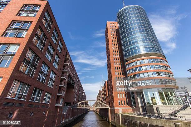 Columbushaus/Wilhelminenbrücke Speicherstadt Hamburg