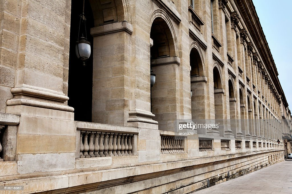column and arcades : Foto stock