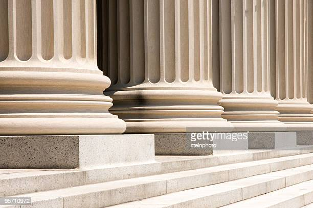 column bases and steps - architectural column stock pictures, royalty-free photos & images