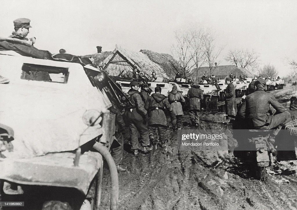 Soldiers Of The German Army : Nachrichtenfoto