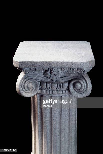 column on black - column stock pictures, royalty-free photos & images