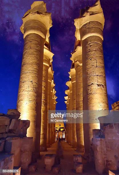 Columnas egipcias
