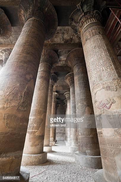 Columned Hall of Khnum Temple of Esna, Esna, Egypt