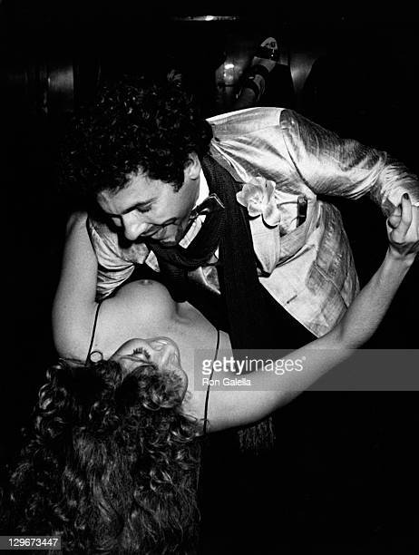 Columnist Couri Hay attends the birthday party for Valentino on May 11, 1978 at Studio 54 in New York City.