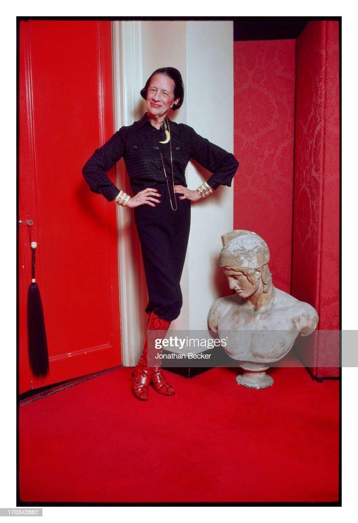 Diana Vreeland, Vanity Fair, September 1, 2012