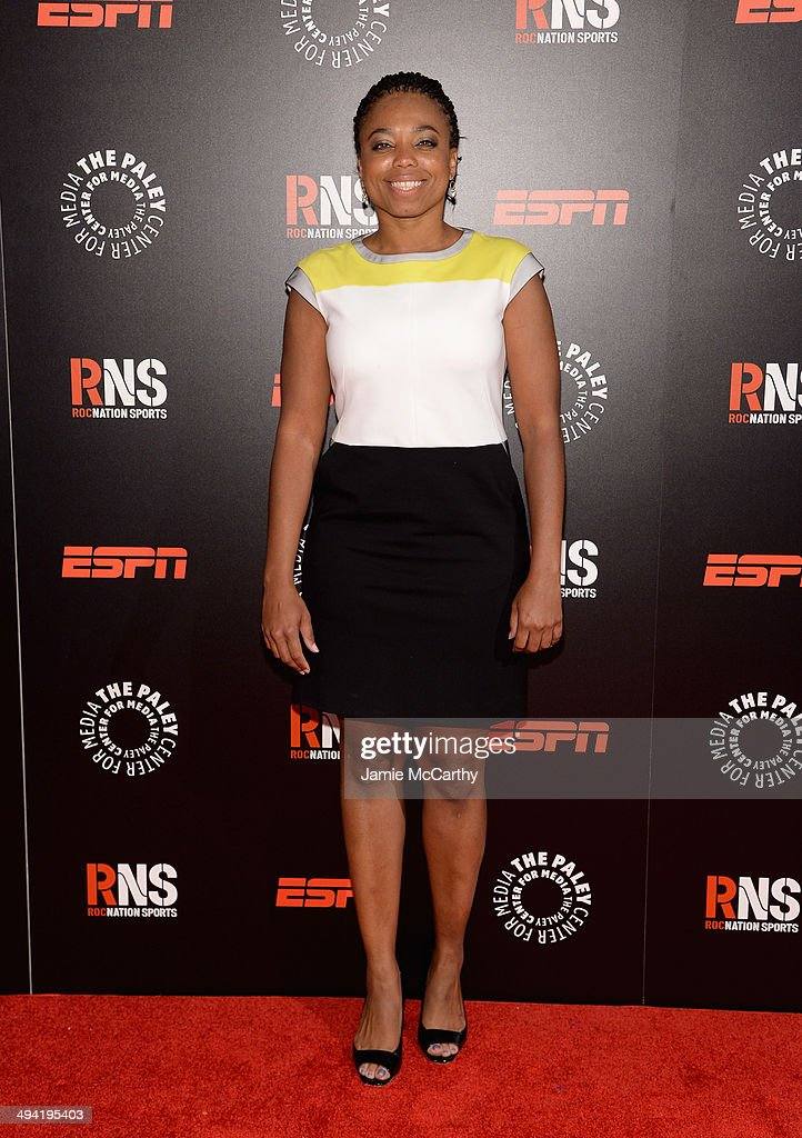 ESPN columnist Jemele Hill attends the Paley Prize Gala honoring ESPN's 35th anniversary presented by Roc Nation Sports on May 28, 2014 in New York City.