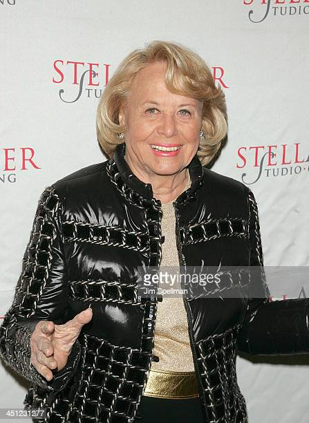 Columnist Liz Smith arrives at the 4th Annual Stella by Starlight Gala Benefit Honoring Martin Sheen at Chipriani 23rd st on March 17, 2008 in New...