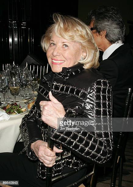 Columnist Liz Smith arrives at the 4th Annual Stella by Starlight Gala Benefit Honoring Martin Sheen at Chipriani 23rd st on March 17 2008 in New...