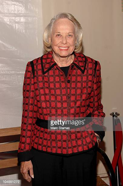 Columnist Liz Smith attends the 7th Annual Fete De Swifty benefit on September 29 2010 in New York City