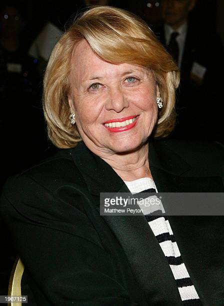 Columnist Liz Smith attends the Mystery Writers of America 57th Annual Edgar Awards at the Grand Hyatt Hotel May 1 2003 in New York City