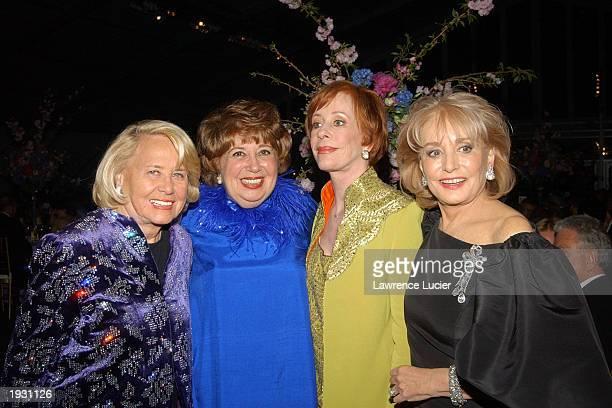 Columnist Liz Smith recording artist Beverly Sills recording artist Beverly Sills actress Carol Burnett and television journalist Barbara Walters...