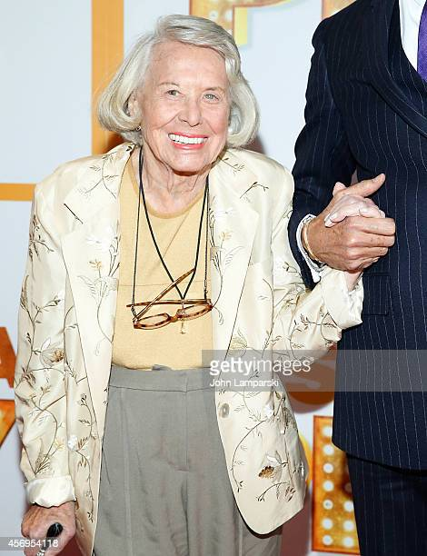 Columnist Mary Elizabeth Liz Smith attends It's Only A Play Broadway Opening Night Arrivals And Curtain Call at Gerald Schoenfeld Theatre on October...