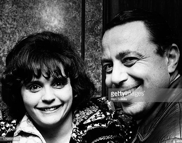 """Columnist Roz Starr and Cy Preston attend the book party for """"The Oppurtunist"""" on December 5, 1972 at the Gotham Theater in New York City."""