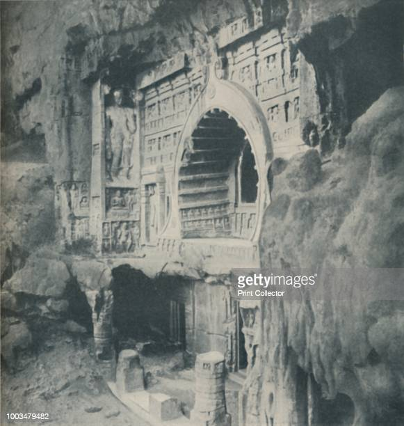 Columns and Architrave Chiselled from the Rock with Wondrous Skill' circa 1935 From Our Wonderful World Volume III edited by JA Hammerton [The...