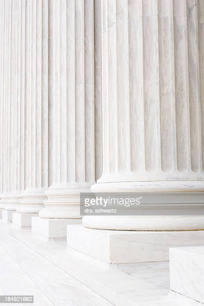 Colunas e os pilares