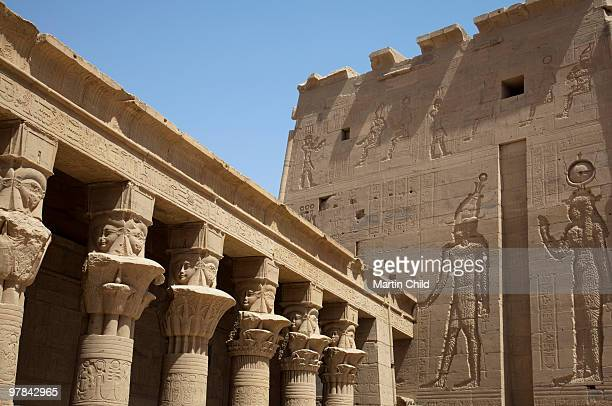 columns and pylon at the Temple of Philae