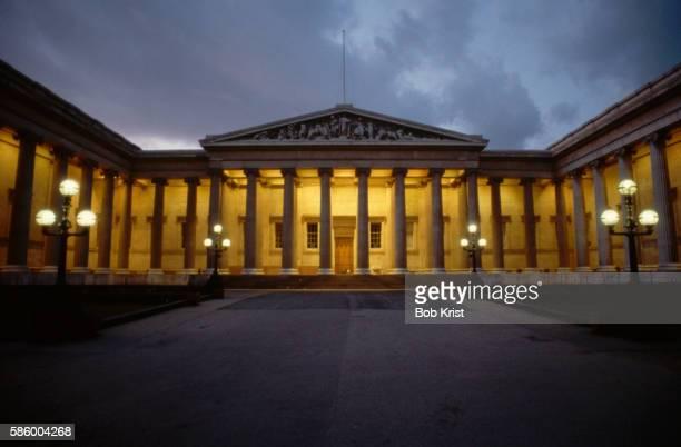Columns and Steps of British Musuem