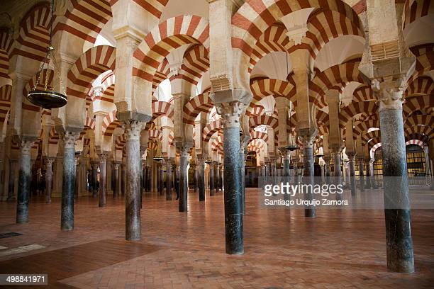 CONTENT] Columns archers and pillars of the interior of the Great MosqueCathedral of Cordoba It is a medieval Islamic mosque that was converted into...