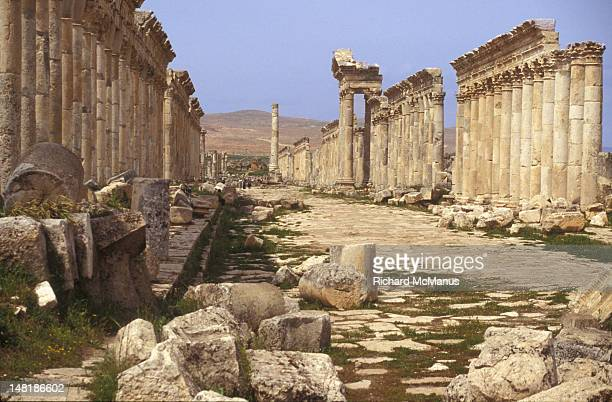 Columns at Apamea, Syria