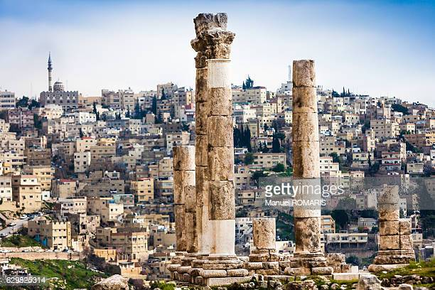 Columns at the Citadel, Amman
