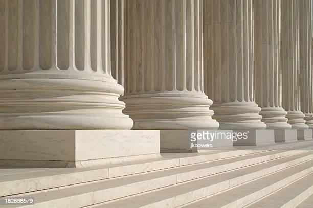 Säulen des obersten Gerichtshofs