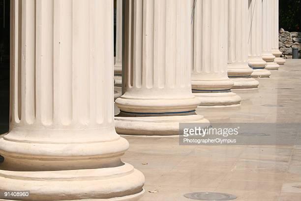 Columns in a row
