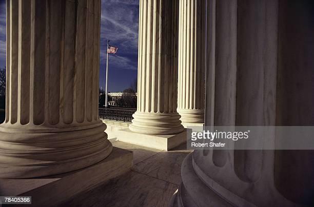 Columns of Supreme Court, Washington, D.C.