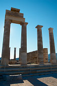 built around bc temple to athena