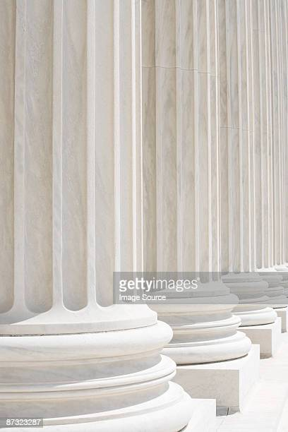 Columns of US supreme court