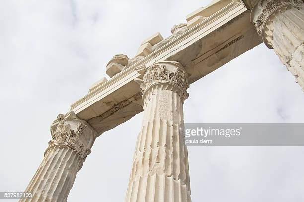 columns - bergama stock pictures, royalty-free photos & images