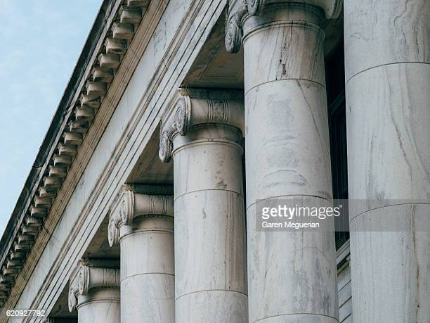 columns - judge law stock pictures, royalty-free photos & images