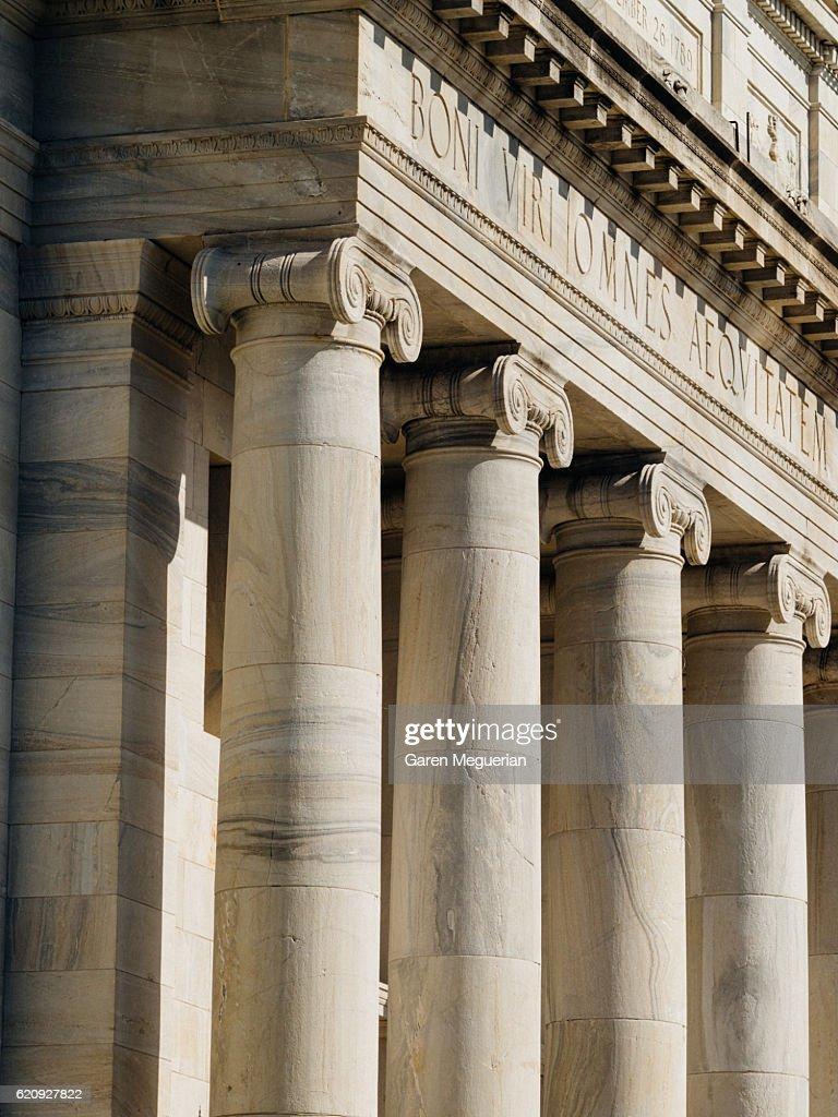 Columns : Stock Photo