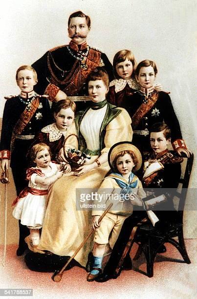 - COLWilhelm II. *27.01.1859-+Deutscher Kaiser 1888-1918König von Preussen- Kaiser Wilhelm, Kaiserin AugusteVictoria und Kronprinz Wilhelm,...