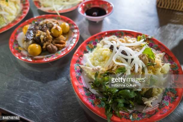 Com ga Hoi An (Vietnamese chicken with rice, Hoi An, Vietnam)