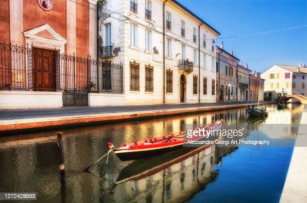 comacchio tones - ferrara stock pictures, royalty-free photos & images