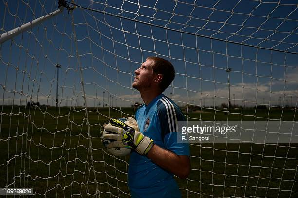 May 22, 2013: Clint Irwin, of the Colorado Rapids, is having success as the new starting goalie for the team, May 22, 2013.