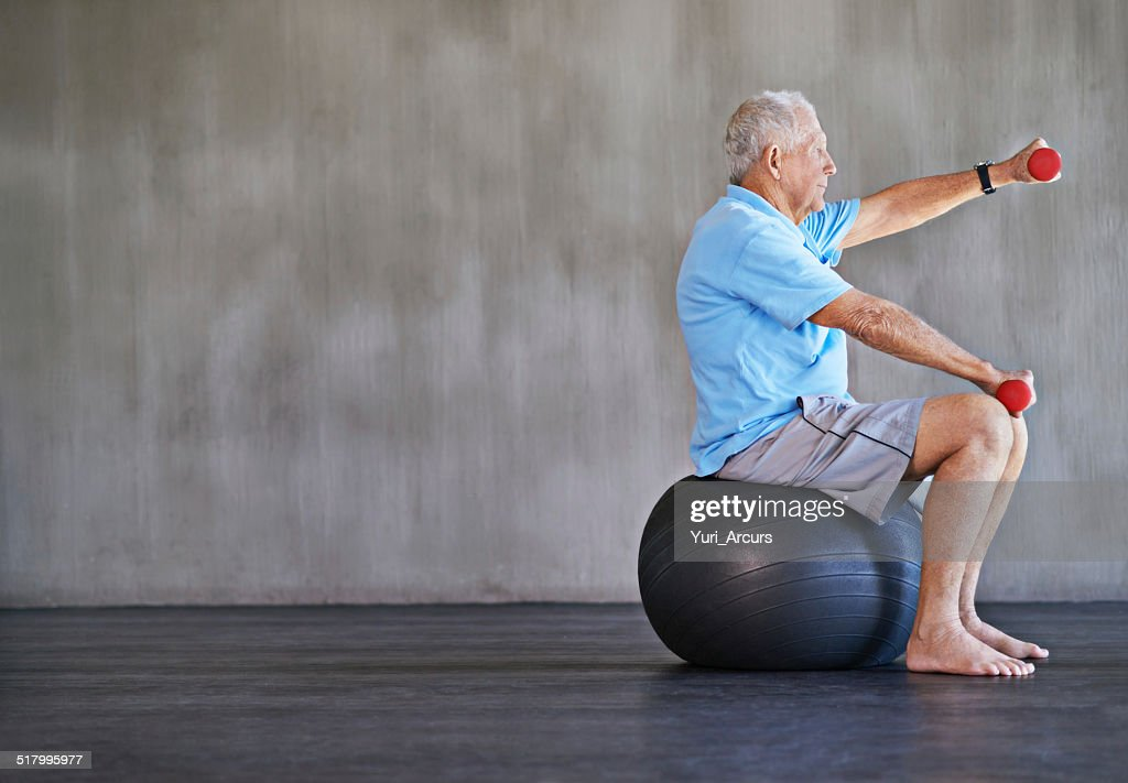 Combat aging one kilo at a time : Stock Photo