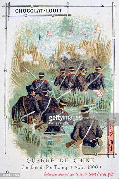 Combat at PeiTsang China Boxer Rebellion August 1900 The Boxer Uprising or Boxer Rebellion was a Chinese rebellion from November 1899 to September 7...