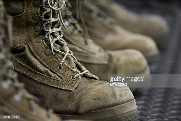 combat boots - boot stock pictures, royalty-free photos & images