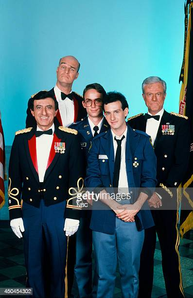 MOVIES Combat High Gallery Pictured Jamie Farr as Col Frierick Richard Moll as Col Felix Long Sr Wallace Langham as Perry Barnett Keith Gordon as Max...