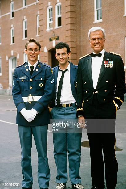 MOVIES Combat High Gallery Pictured Wallace Langham as Perry Barnett Keith Gordon as Max Mendelsson Robert Culp as General Edward 'Ed' Woods